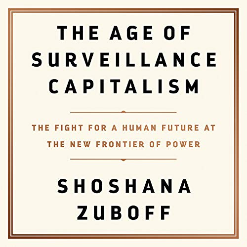 Couverture de The Age of Surveillance Capitalism