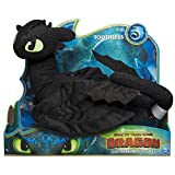 "Dreamworks Dragons, Toothless 14"" Deluxe Plush Dragon, for Kids Aged 4 & Up"