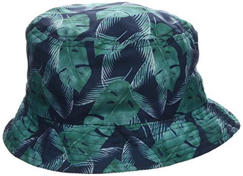 maximo Jungen Hut, Palmenblätter Mütze, Mehrfarbig (Navy/Tropengrün 4828), 51