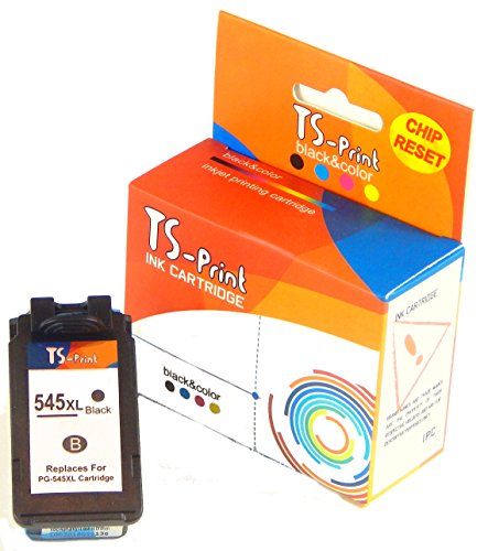 TS-Print Druckerpatrone PG-545XL Schwarz Kompatibel für Drucker Canon Pixma iP2840 iP2850 iP2855 MG2450 MG2550 MG2555 MG2950 MG3050 MG3051 MX490 MX495 TR4551 TS3150 TS3151 TS3152