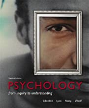 Psychology: From Inquiry to Understanding (3rd Edition)