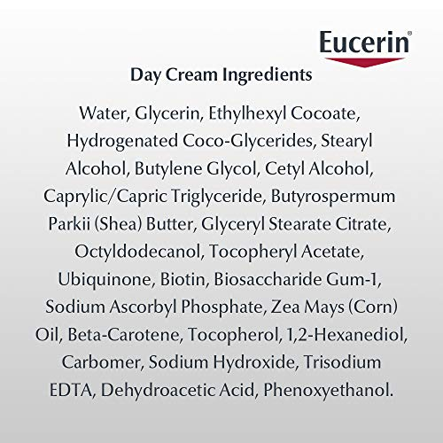 51TDqZwykaL - Eucerin Q10 Anti Wrinkle Day Face Cream + Night Cream | 1.7 Oz (2 Pack)