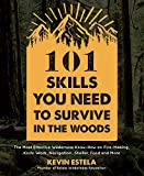 101 Skills You Need to Survive in the Woods: The Most Effective Wilderness Know-How on Fire-Making, Knife Work, Navigation, Shelter, Food and More