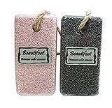Premium Callus Remover Beautifoot Black and Pink set