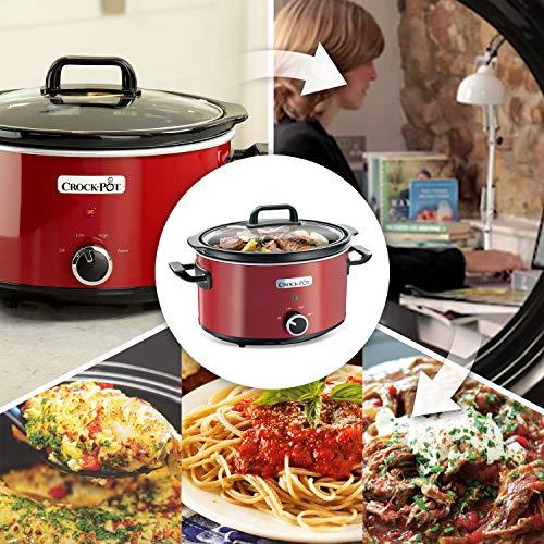 Crockpot SCV400RD 220/240V Slow Cooker, 3.5 L