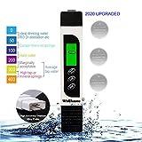 【2020 Upgraded】TDS Meter Digital Water Tester,WoEluone...