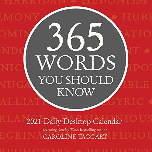 365 Words You Should Know Daily 2021 Calendar