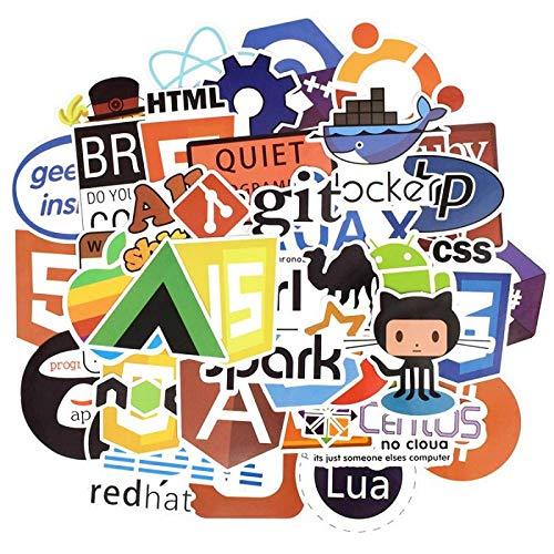 Java HTML-app, 50 stuks, programmeertalige stickers, software programma voor Geek, doe-het-zelf, laptop, MacBook, telefoon, Ps4, 50 stuks