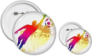 Kit de création de badges et de badges pour gardien de but de football