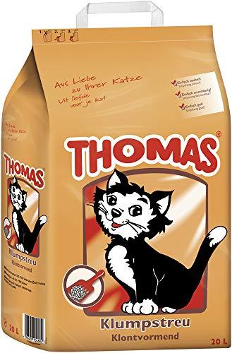 Thomas Katzenstreu Klumpstreu, 1 Packung (1 x 20 l)