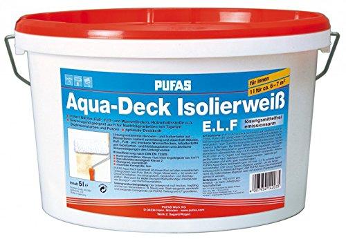 PUFAS Aqua-Deck Isolierweiß E.L.F. 5 Liter