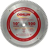 Oshlun SBNF-100100 10-Inch 100 Tooth TCG Saw Blade with 5/8-Inch Arbor for Aluminum and Non Ferrous Metals