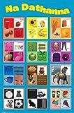 1art1 Schule - Lerne Die Farben, In Irisch Poster 91 x 61
