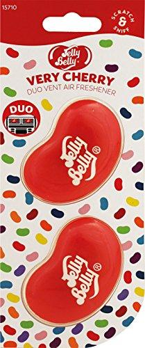 Jelly Belly 15710A 3D Gel Mini Vent Lufterfrischer Duo Pack - Very Cherry
