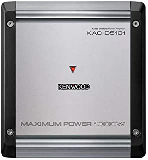 Kenwood KAC-D5101 1000W Max Power 4-Ohms Mono Amp Class D