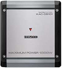 Kenwood KAC-D5101 1000W Max Power 4-Ohms Mono Amp Class D