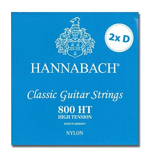 Hannabach 800HT - mit zweiter D-Seite - Special Limited Edition - Saiten für Konzertgitarre High tension