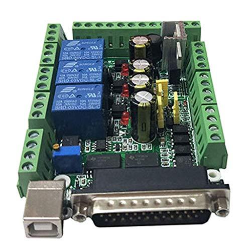 JUNYYANG Scheda Adattatore Scheda di interfaccia di Sistema di Controllo di CNC 3-Canale 5 V Relay