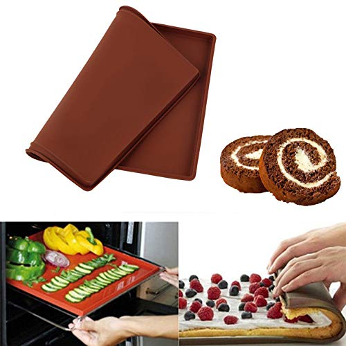 Best Buy! Professional 2019 Silicone Baking Mat Tray Oven Rolling Pastry Cake, Bread Baking Ovens - ...