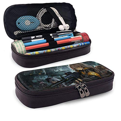 Pencil Case Big Capacity Large Storage Pen Pencil Pouch Stationery Organizer Practical Bag Holder with Zipper - Girls Frontline Operation Heavy Weapons
