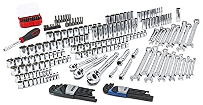 GEARWRENCH 80944-232 Pc. Mechanics Tool Set in 3 Drawer Storage Box by