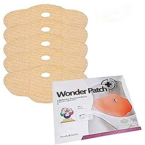 OFKPO Slim Parche,5 Hojas Belly Wing Slim Heat Body Wraps Pérdida de Peso y Compresión de Desintoxicación