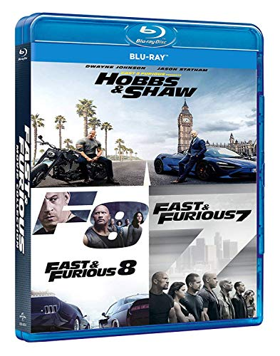 Fast & Furious: Hobbs And Shaw Collection (Box 3 Br) (Ff7+Ff8+H&S)