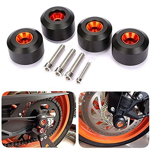 CICMOD Motorcycle Front Rear Fork Wheel Frame Slider Crash Protector for KTM 125 200 390 Duke K
