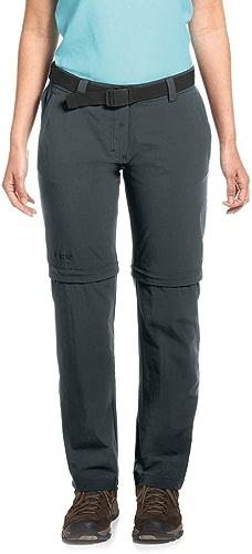 Maier Sports Nata 2 - Pantalon Femme - gris Modèle EU 19 (Short) 2019