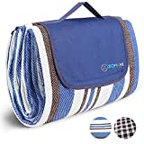 ZOMAKE Extra Large Picnic Blanket Mat with Water Resistant , Foldable Picnic Mat for Beach, Concert, Camping on Grass Waterproof Sandproof