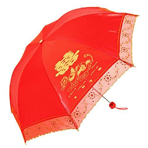 GTWP GTWP GT Umbrella Spitzenspitze Umbrella Sun Rain Umbrella Handbuch Umbrella Anti-UV Waterproof Parasol Regenschirm Sunshade Wedding Dekoration Regenschirm