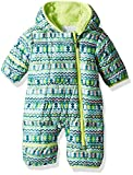 Columbia Unisex Baby Infant Frosty Freeze Bunting, Tippet Zigzag...