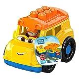Mega Bloks Autobs escolar, juguete de construccin para nios + 1 ao (Mattel GCX10)