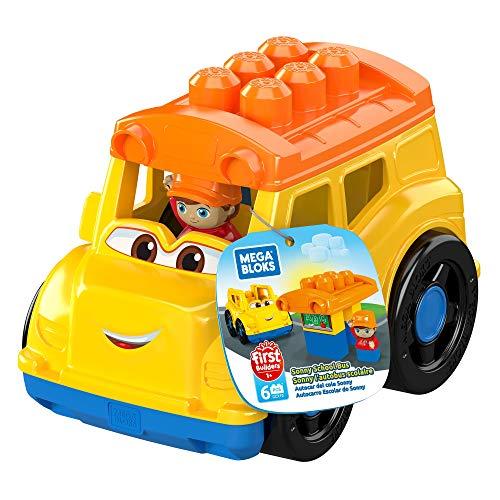 Mega Bloks GCX10 - Kleines Fahrzeug Schulbus, 6 Teile