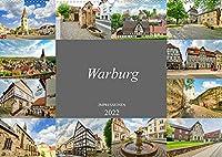 Warburg Impressionen (Wandkalender 2022 DIN A2 quer): Traumhafte Bilder der romantischen Stadt Warburg (Monatskalender, 14 Seiten )
