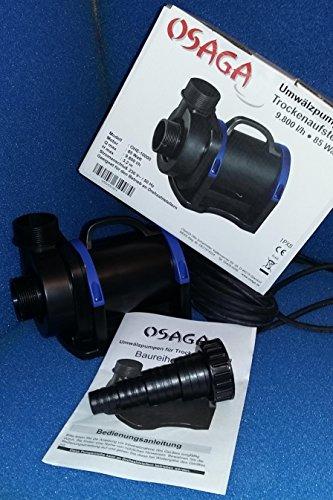 Osaga OHE-10000 Teichpumpe zur Trockenaufstellung ODR Regelbar, nicht im Lieferumfang enthalten.
