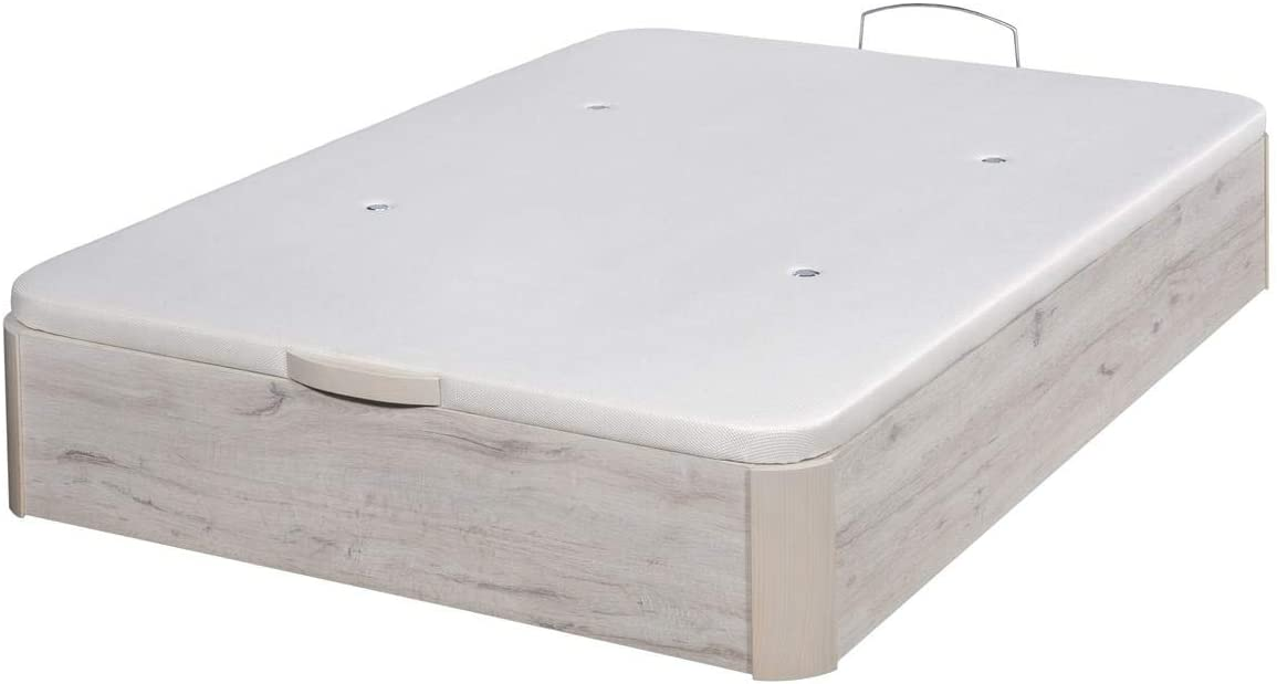 Santino Canapé Abatible Wooden Gran Capacidad Artic 150x190 ...