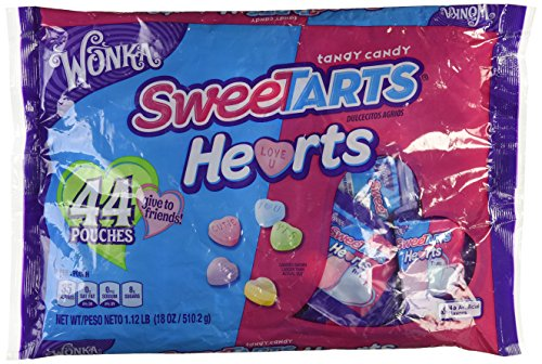 Wonka Sweetarts Hearts 44 Pouches Friends Pack