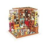 KEHUASHINA Doll House Biblioteca de Madera Modelo de casa Mejor Regalo de San Valentín para Las Mujeres y los Hombres