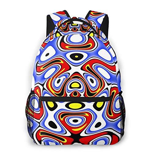 Fashion Backpack for Teen Girls Slip Trip GIF Casual Shoulder Bag Student Daypack Travel Laptop Bag for Men Women
