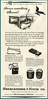 1950 AD for New Camping Goodies by Abercrombie & Fitch Original Paper Ephemera Authentic Vintage Print Magazine Ad/Article