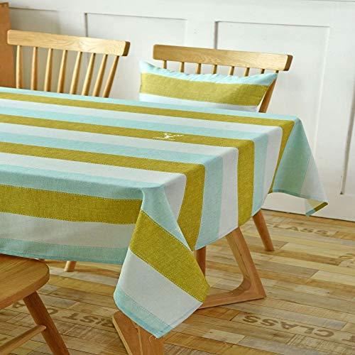 Home\'s Baumwolle Leinen Waschbare Tischdecke, Lappen, Saubere Tischdecke, Einfache Moderne Tischdecke Stoff, Baumwolle Leinen Kleine Frische Tischdecke Für Gartentisch60X60CM