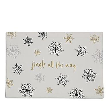 Kate Spade Snowflake Placemats Set of 4