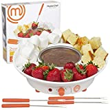 Best Electric Fondue Pots - MasterChef Chocolate Fondue Maker- Deluxe Electric Dessert Fountain Review