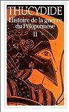 Histoire de la guerre du Péloponnèse - Tome 2