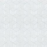 Timeet Papel Adhesivo para Muebles, Diseño de Geometría de Color Plateado y Blanco, con Rayas...