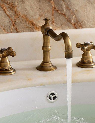 MEIREN nuovo design moderno in stile antico lavandino del bagno rubinetto classico stile diffusa withPolished con finitura in ottone