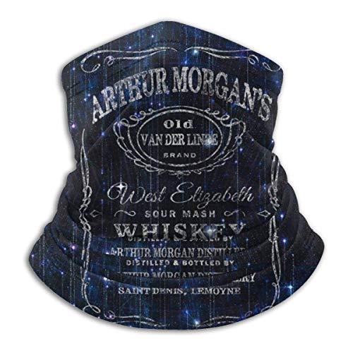 N / A Arthur Morgans Whisky Cool Gaming Rdr2 Style Nackenwärmer Bandanas Schal Gesicht Kopftuch Röhrenschal Bequem Bandana Für Ski Jagd Klettern