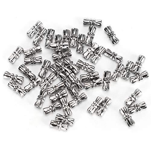 Cierre de artesanía con cierre de tornillo de seguridad para pulseras de abalorios para joyas de bricolaje