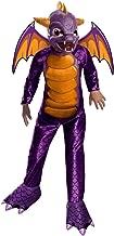 Boy's Deluxe Skylanders Spyro Costume, Purple ,Large 12-14